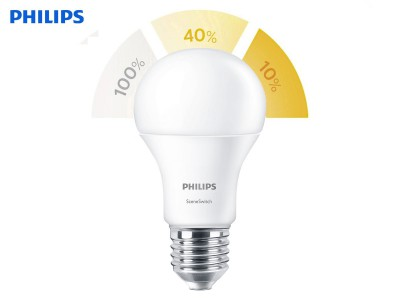 E27 LED žarnica Philips SceneSwitch 8W