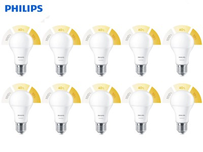 10x E27 LED žarnica Philips SceneSwitch 8W