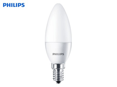 E14 LED žarnica Philips CorePro 40W/5.5W B35