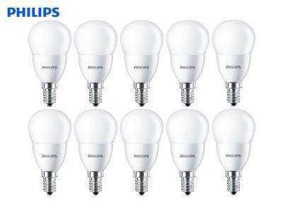 10x E14 LED žarnica Philips CorePro 60W/7W P48