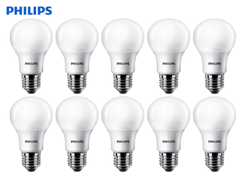 10x E27 LED žarnica Philips CorePro 40/5W