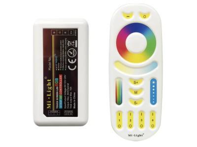 MiLight Daljinec + sprejemnik (RGB) z možnostjo programiranja