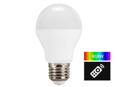 E27 LED žarnica MultiColor z možnostjo daljinskega upravljanja