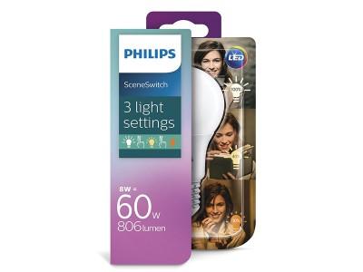 E27 LED žarnica Philips 6W z možnostjo zatemnjevanja