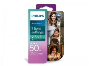 GU10 LED žarnica Philips SceneSwitch z možnostjo zatemnjevanja
