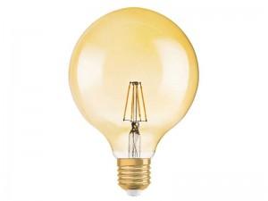 E27 LED žarnica z žarilno nitko 4W OSRAM - A
