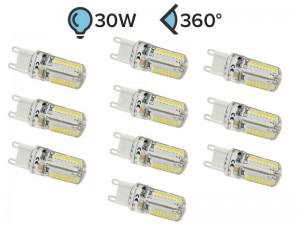 Paket 10x G9 LED žarnica 3W
