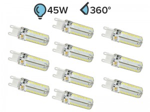 Paket 10x G9 LED žarnica 4.5W