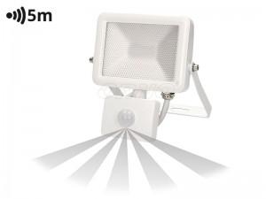 LED reflektor 10W S SENZORJEM GIBANJA SLIM