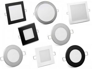 AKCIJA - Zadnji kosi LED svetilk - panelov SLIM
