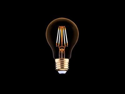 E27 LED žarnica z žarilno nitko 4W - A