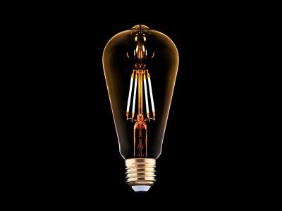 E27 LED žarnica z žarilno nitko 4W - B