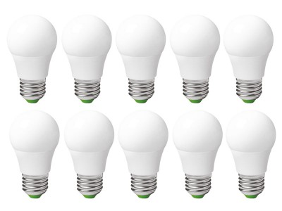 10x E27 LED žarnica A50 3W