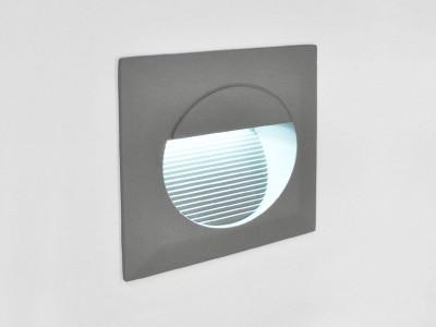 Vgradna stenska LED svetilka DELTA OGLATA