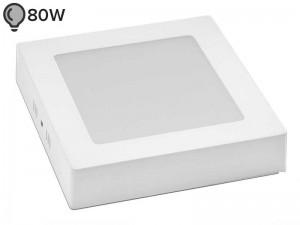 LED svetilka SLIM OGLATA BELA 12W ECONOMY (1 leto garancije)