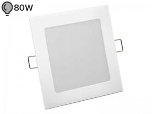 Vgradna LED svetilka SLIM OGLATA BELA 12W