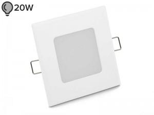 Vgradna LED svetilka SLIM OGLATA BELA 3W - ECONOMY (1 leto garancije)