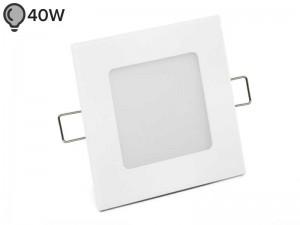 Vgradna LED svetilka SLIM OGLATA BELA 6W - ECONOMY (1 leto garancije)