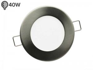 Vgradna LED svetilka SLIM OKROGLA MAT 6W