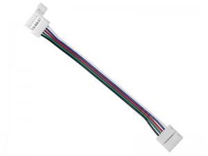 Konektor za RGBW LED trakove - DVOJNI s KABLOM 13cm