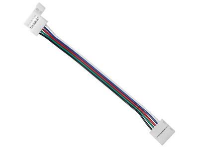RGBW LED konektor - DVOJNI S KABLOM