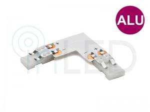 Konektor za LED trakove - L - za ALU profile