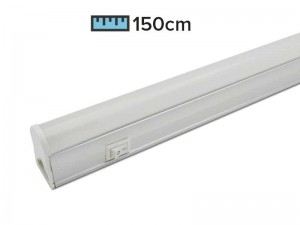 LED svetilka za delovne pulte s stikalom UNI 150cm 24W