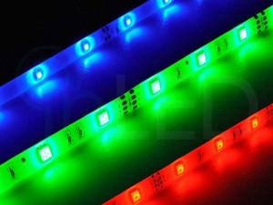 LED trak SPOT 30LED 5050, 7.2W/m, RGB, PLUS