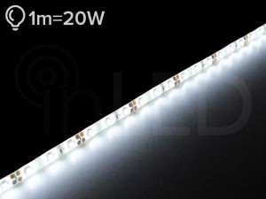 LED trak DECO 60LED/m, NEVTRALNA BELA, PLUS