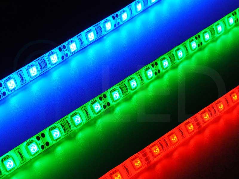 LED trak 60LED/m, RGB