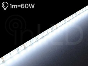 LED trak POWER 60LED/m, NEVTRALNA BELA, PLUS