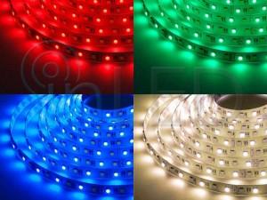 LED trak 72LED 5050, 17.2W/m, RGBW, TOPLA BELA, PLUS