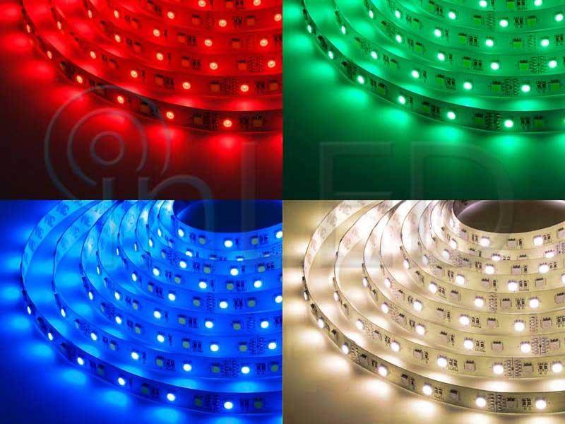 LED trak 60LED/m, RGB+W - TOPLA BELA