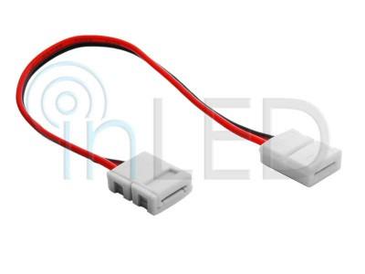 Enobarvni LED konektor - DVOJNI s KABLOM