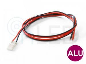 Konektor za LED trakove s 60cm kablom - PRIKLJUČNI - za ALU profile