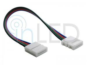 Konektor za RGB LED trakove - DVOJNI s KABLOM 13cm