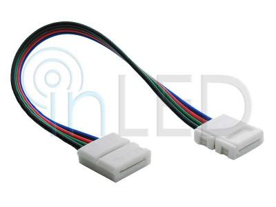 RGB LED konektor - DVOJNI S KABLOM