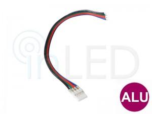 Konektor za RGB LED trakove - PRIKLJUČNI - za ALU profile