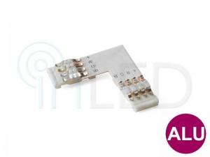 Konektor za RGB LED trakove - L - za ALU profile