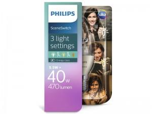 E14 LED žarnica Philips SceneSwitch z možnostjo zatemnjevanja