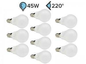 Paket 10x E14 LED žarnica G45 5W