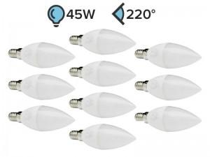 Paket 10x E14 LED žarnica C37 5W