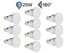 Paket 10x E14 LED žarnica R39 3W