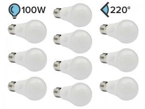 Paket 10x E27 LED žarnica A60 11W