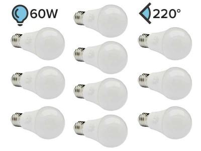 Paket 10x E27 LED žarnica A60 7W