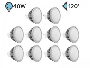 Paket 10x MR16 LED žarnica PLUS 5W