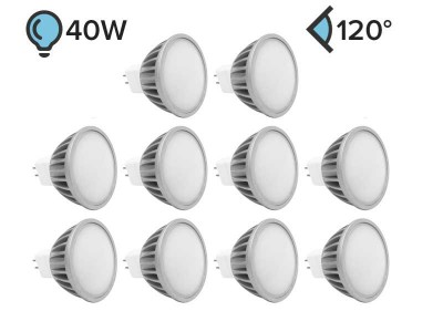 Paket 10x MR16 LED žarnica PLUS 5W