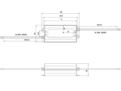 Napajalnik 220V/12V 12W Meanwell APV-12