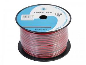 Kabel 2x0.20mm 100m KOLUT