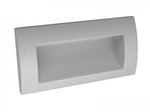 Vgradna Stenska LED svetilka THETA II - SIVA